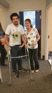 Katherine and me walker